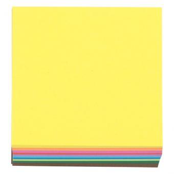 Faltblätter quadratisch - 10 x 10 cm