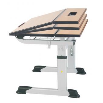 Aluflex Tische Zweiertisch 64 - 82 cm