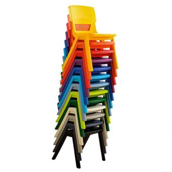 Postura+ Stuhl, Sitzhöhe: 38 cm, Größe: 4