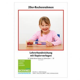20er-Rechenrahmen Klassen-Set, 20 Stück in 2 Holzboxen