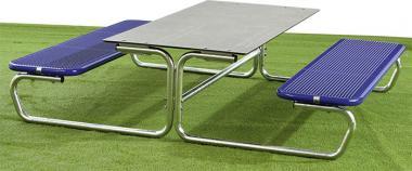 Outdoor Tisch-Sitz-Kombination, Sitzhöhe: 40,6 cm