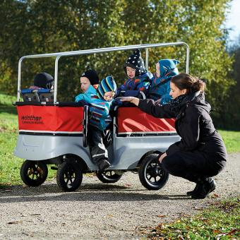 Winther E-Turtle Kinderbus, 6-Sitzer