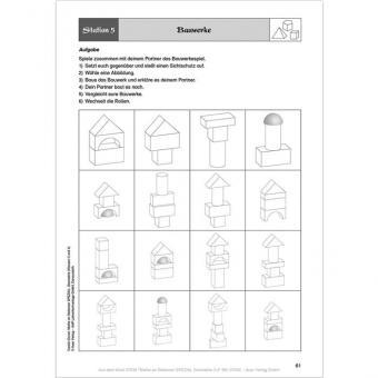 Mathe an Stationen - Geometrie Klasse 3 und 4