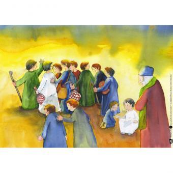 Kamishibai-Bildkarten, Josef und seine Brüder