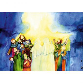 Unsere Jahreskrippe Mit 24 biblischen Szenen durchs Jahr