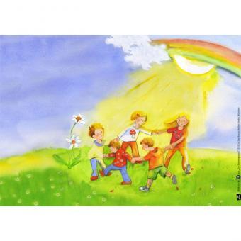 Kamishibai-Bildkarten, Der Sonnengesang