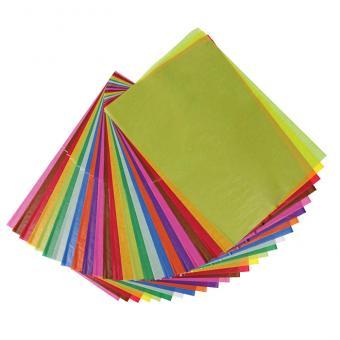 Transparentpapier/Drachenpapier zitronengelb