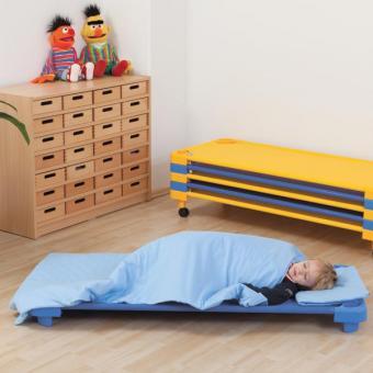 Stapelbare Kinderliegen in Blau