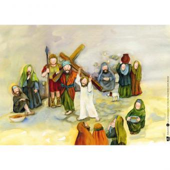 Kamishibai-Bildkarten, Der Kreuzweg Jesu