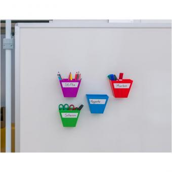 Magnetische Aufbewahrungsboxen im 4er-Set