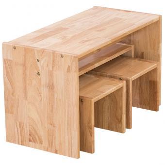Holz-Sitzgruppe