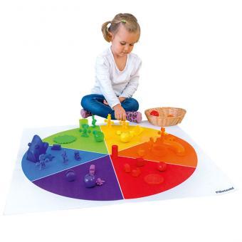 Teppich Farbkreis