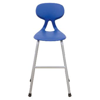 Hochstuhl mit Kunststoff- Sitzschale