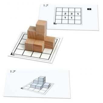 Cubo-Karten für 1-8 Würfel (Set 1)