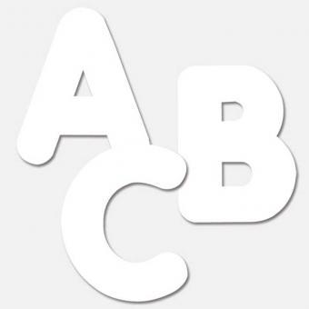 Riesen-Buchstaben 26 Kleinbuchstaben