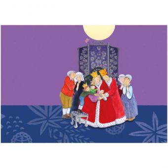 Kamishibai-Bildkarten, Die Geschichte von Prinz Seltsam