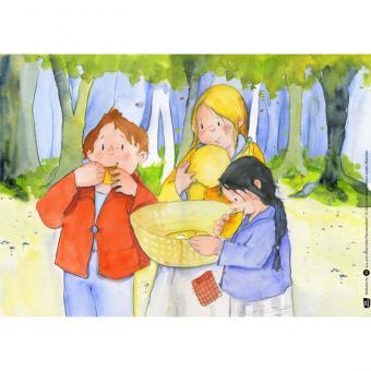 Kamishibai-Bildkarten, Der dicke fette Pfannkuchen