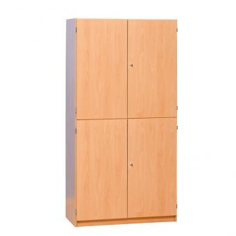 Halbtürenschrank, 4 Türen - Breite: 94,4 cm