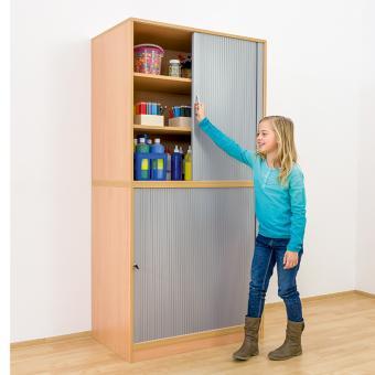 Unter-Rollladenschrank - Breite: 126,4 cm