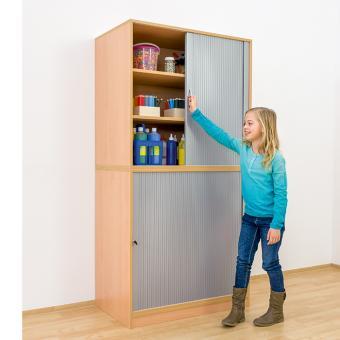 Aufsatz-Rollladenschrank - Breite: 94,4 cm