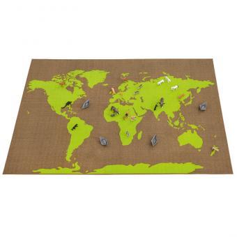 Spielteppich Welt