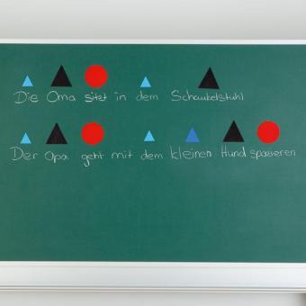 Wortartensymbole, magnetisch