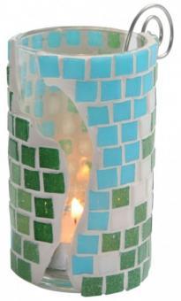 bunte Mosaik-Glassteine
