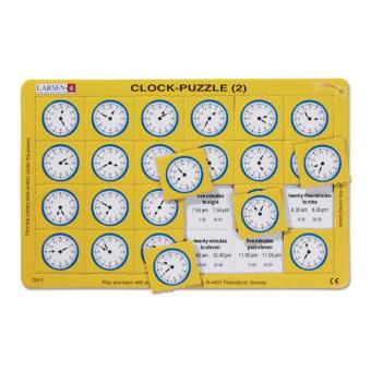 Clock Puzzle - What time is it?