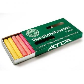Atla Wandkreide 12 Stück, 12-farbig