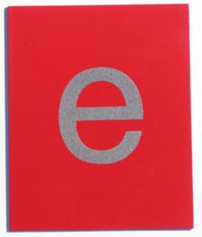 Sandpapier-Buchstaben, Set mit 59 Groß- und Kleinbuchstaben