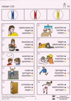 Alltagswortschatz Deutsch - Verben/Adjektive