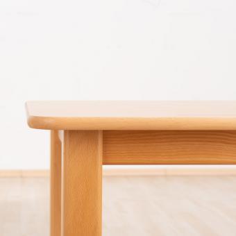 Massivholz Tisch, Quadrat