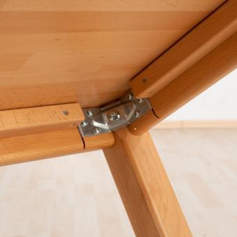 Massivholz Tisch, Rechteck