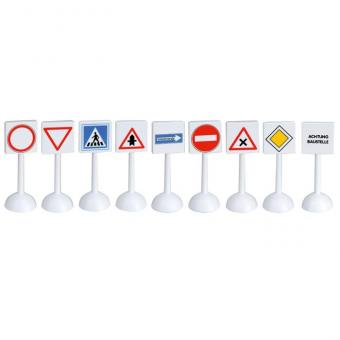 Modell-Verkehrsschilder