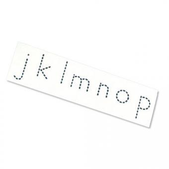 Alphabet Stempel