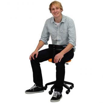 Erzieherinnen-Stuhl Sitzhöhe 36-43 cm - Grün