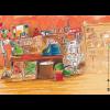 Kamishibai-Bildkarten, Jim Knopf und Lukas der Lokomotivführer machen einen Ausflug-3