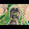 Kamishibai-Bildkarten, Jim Knopf und Lukas der Lokomotivführer machen einen Ausflug-4