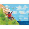 Kamishibai-Bildkarten, Jim Knopf und Lukas der Lokomotivführer machen einen Ausflug-5