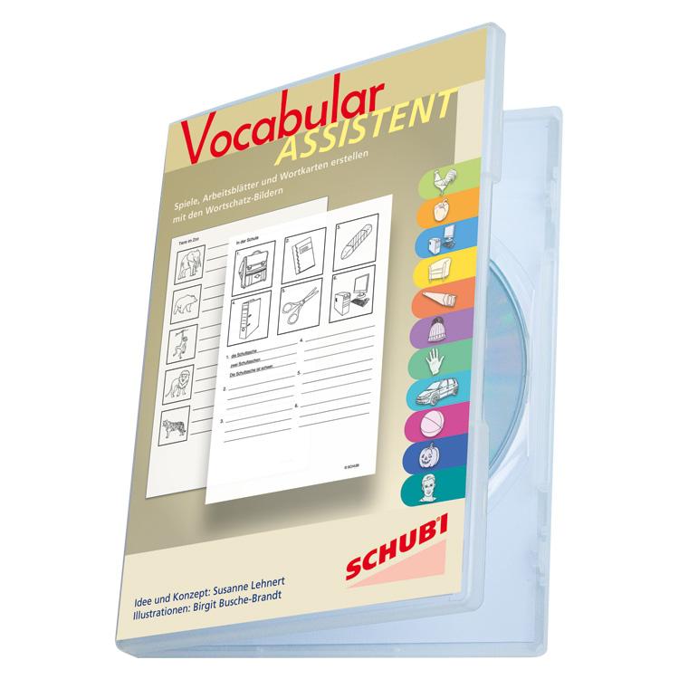Vocabular ASSISTENT CD-ROM - selber Arbeitsblätter und Spiele zur ...