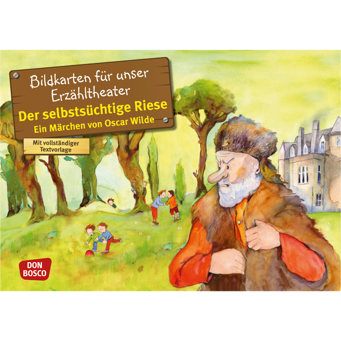 Der selbstsüchtige Riese - von Oscar Wilde - Bildkarten Märchen ...