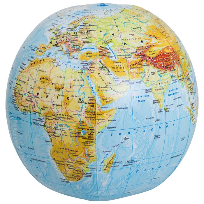 diercke globus aufblasbar mit aktueller physikalischer kartografie g nstig online kaufen. Black Bedroom Furniture Sets. Home Design Ideas