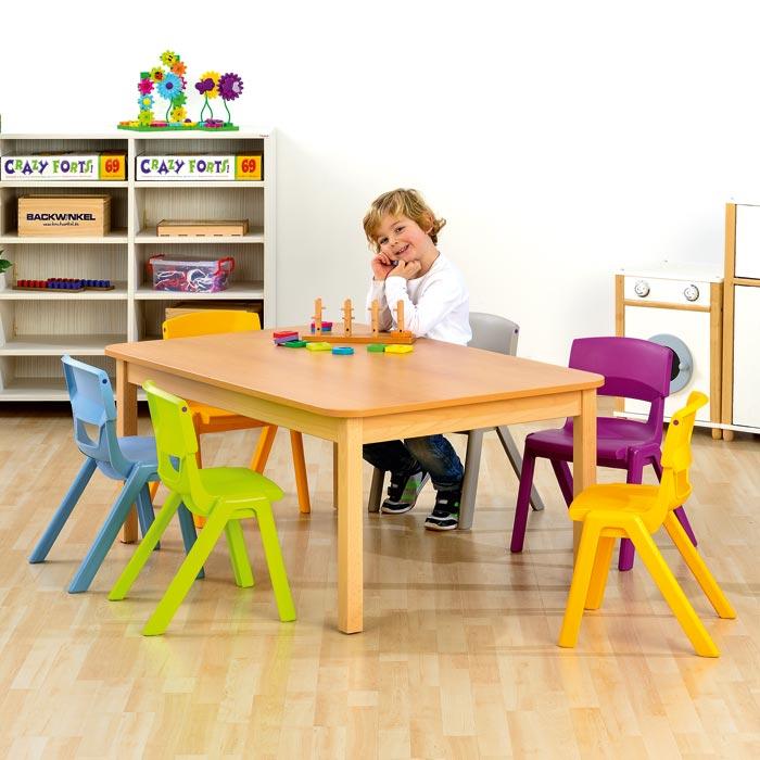 rechteck tisch 6 postura st hle g nstig online kaufen. Black Bedroom Furniture Sets. Home Design Ideas
