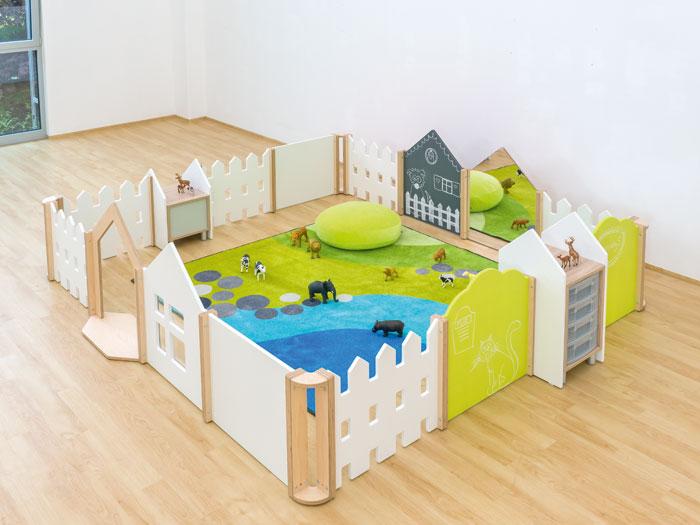 trennw nde zum bauen von spielecken g nstig online kaufen. Black Bedroom Furniture Sets. Home Design Ideas
