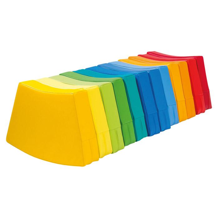 Sitzkissen Farbkreis Regenbogen 12 Teilig Trapez Gunstig Online Kaufen Backwinkel De