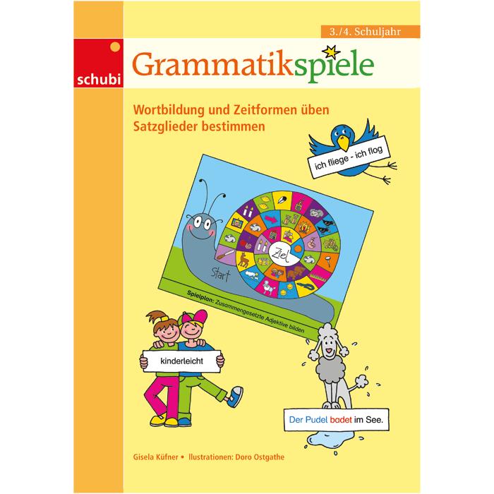 grammatikspiele 3 4 wortbildung und zeitformen 252ben