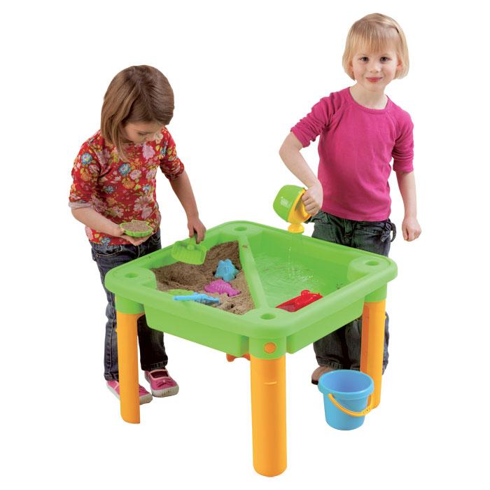 geteilter sand und wasser spieltisch inklusive zubeh r g nstig online kaufen. Black Bedroom Furniture Sets. Home Design Ideas