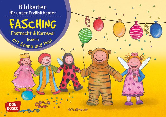 Kamishibai Bildkarten Fasching Fastnacht Und Karneval Feiern Mit