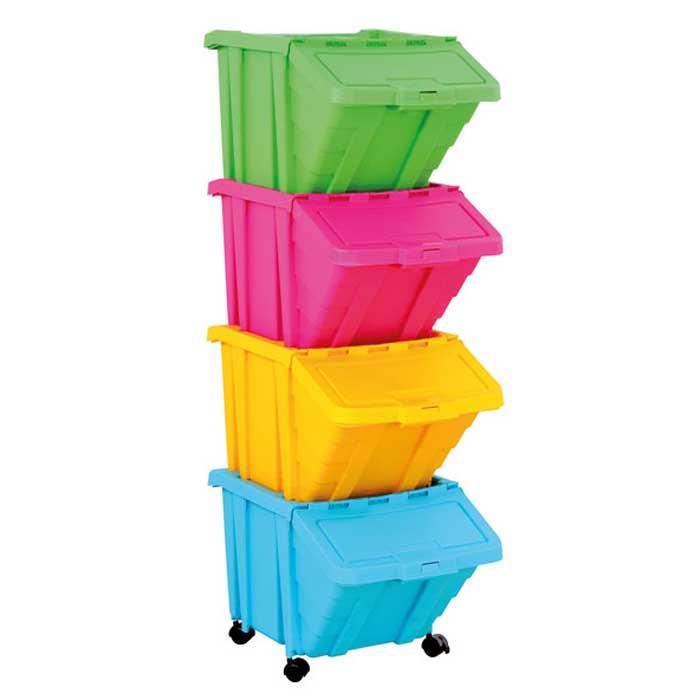 gro e stapelbox mit klappdeckel g nstig online kaufen. Black Bedroom Furniture Sets. Home Design Ideas
