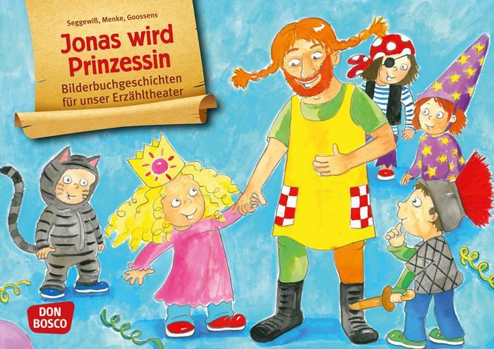 Kamishibai-Bildkarten, Jonas wird Prinzessin günstig online kaufen ...